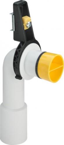 Produktbild: VIEGA Ablaufbogen Kunststoff 2125.9 mit Halterung, Stopfen, Gu.-Nippel 40/3