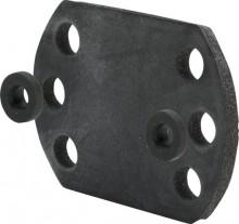 Produktbild: VIEGA Gummiplattenset Modell 2141.6 für Schrauben M4, 2 Stück im Set
