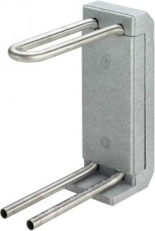 Produktbild: VIEGA HK-Anschlussblock mit Isolierbox 185 mm aus Edelstahlrohr, 1097.6