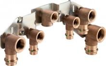 "Produktbild: VIEGA Montageeinheit 2229 Gasanschluss 1/2"", f. JU-Kombi-Kesselth."