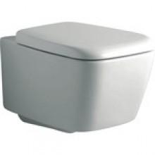 Produktbild: Ventuno Wand-Tiefspül-WC weiss mit Beschichtung und WC-Sitz T663801 Softclosing