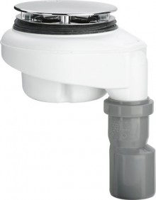 Produktbild: Viega Ablaufgarnitur Tempoplex 6962 Kunststoff/verchromt 112mmxDN 40/50