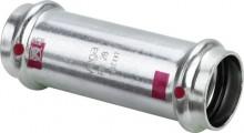 Produktbild: Viega PRESTABO Schiebemuffe, 1115.5  C-Stahl 15 mm