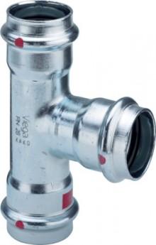 Produktbild: Viega PRESTABO T-Stück, C-Stahl 1118 15 mm