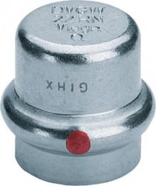 Produktbild: Viega PRESTABO Verschlusskappe,  C-Stahl 1156 15 mm