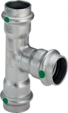 Produktbild: Viega SANPRESS INOX T-Stück Edelstahl 2318 15 mm
