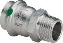 "Produktbild: SANPRESS INOX Übergangsst. Edelst. 2311 15 mm x 1/2"" AG"