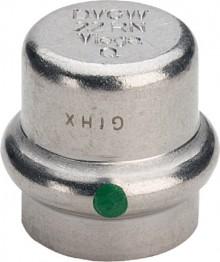 Produktbild: Viega SANPRESS-INOX Verschlusskappe m.SC-Cont.  15 mm, Nr. 2356