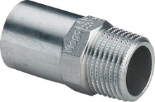 "Produktbild: SANPRESS INOX Einsteckst. Edelst. 2311.l 18 mm x 1/2"" AG"