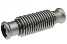 Produktbild: XPress Edelstahl Axialkompensator mit Pressende 15 mit EPDM O-Ring M-Kontur