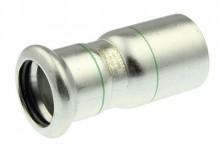 Produktbild: XPress Edelstahl Reduziernip. XPS 243 d 18 x 15 mit EPDM O-Ring