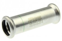 Produktbild: XPress Edelstahl Schiebem. XPS 270 S d 15 o. Anschlag mit EPDM O-Ring