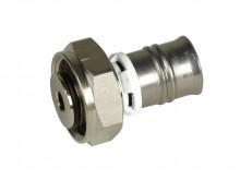 "Produktbild: alpex F50 Profi Pressanschluss-Verschraubung mit Eurokonus  16 mm x 3/4"" IG MS"