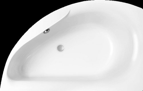 oslo raumspar badewanne 162x94x46 cm weiss rechts 21570 repabad acryl hahn gro handel. Black Bedroom Furniture Sets. Home Design Ideas