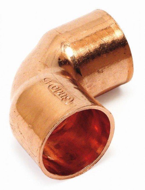 Cu Winkel 28mm 509028 Kupfer Fittings DIN DVGW