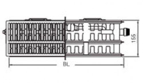 therm x2 profil ventil typ 33 500x1100 335001100vr kermi stahlblech hahn gro handel. Black Bedroom Furniture Sets. Home Design Ideas