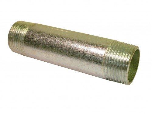 """23 Nr Rohrdoppelnippel verzinkt 2/"""" x 1000 mm"""
