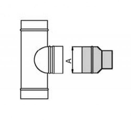 schornstein doppelwandig bergangselement weit dn 300 14043008204 sur edelstahl hahn. Black Bedroom Furniture Sets. Home Design Ideas