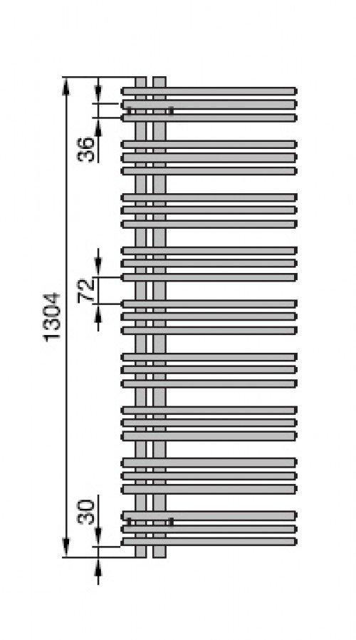 yucca asymmetrisch badheizk rper x 378 mm verchromt einlagig zy300338cr00000 zehnder. Black Bedroom Furniture Sets. Home Design Ideas
