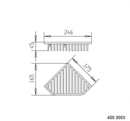 sam k rbe eckschwammkorb 4003053 sam hahn gro handel sigrun hahn e k online versand. Black Bedroom Furniture Sets. Home Design Ideas