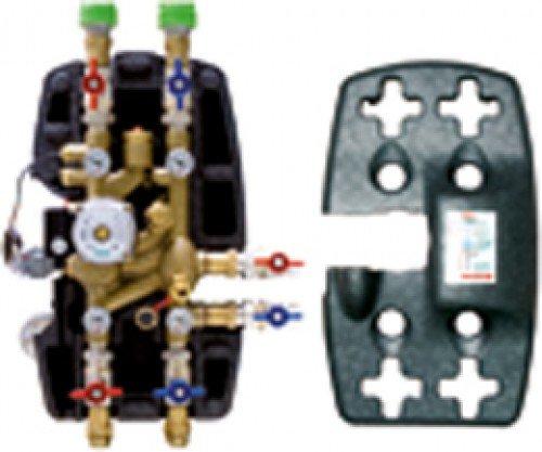 verteilergruppe mit zentraler thermischer regelung 1 r575y001 giacomini watts oventrop u. Black Bedroom Furniture Sets. Home Design Ideas