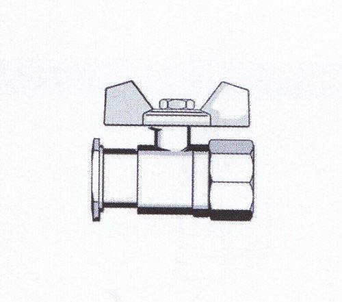 kugelhahn mit flansch 1 ig 61810 meibes hahn gro handel sigrun hahn e k online. Black Bedroom Furniture Sets. Home Design Ideas