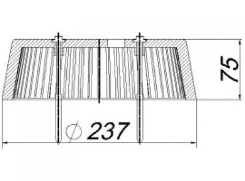 kies laubfangkorb zu 63 t 620866 dallmer polypropylen hahn gro handel sigrun hahn e k. Black Bedroom Furniture Sets. Home Design Ideas