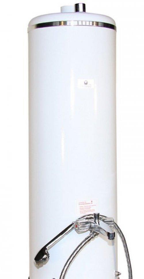 badeofen oberteil weiss 100 liter mit mischbatterie mit rb 38304713 wittigsthal hahn. Black Bedroom Furniture Sets. Home Design Ideas