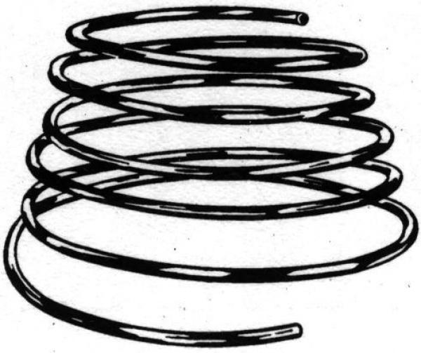 kupferrohr spirale 10 mm 5m lang 10500026. Black Bedroom Furniture Sets. Home Design Ideas