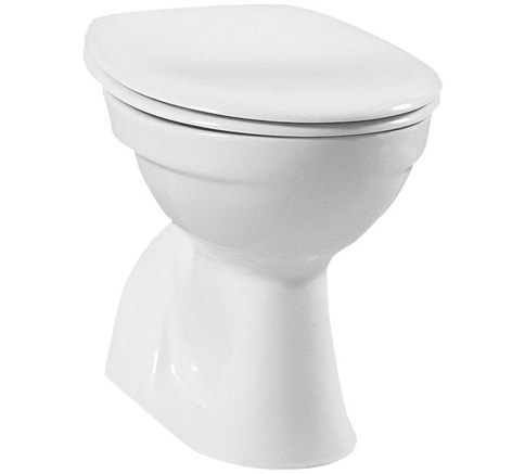 DIANA Aktiv Stand-WC-Tiefspüler Abgang universal waagrecht, bahamabeige