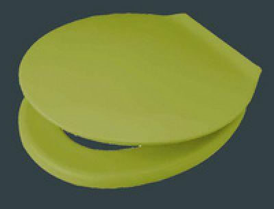 exklusiv wc sitz moosgr n mit deckel mit edelstahl befestigung 790821607 pagette hahn. Black Bedroom Furniture Sets. Home Design Ideas