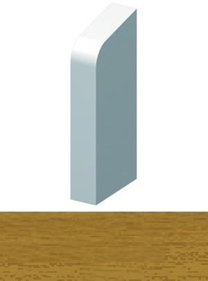 Grau HZ SLF 2000 Sockelleisten mit Zubeh/ör Endst/ück links