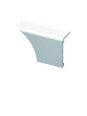 HZ SLF 2000 Zubehör Innenecke mit Befestigungsschelle Farbe weiß