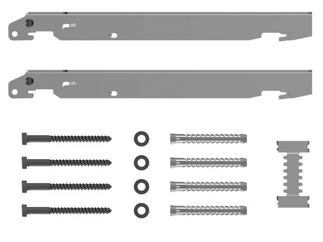 kermi schnellmontagekonsolen set f r typ 11 33 bauh he. Black Bedroom Furniture Sets. Home Design Ideas