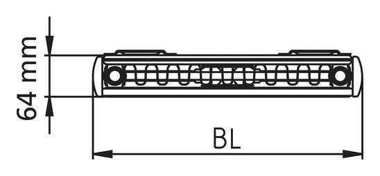 Kermi Fsn Therm X2 Verteo Profil Heizkorper Senkrecht Typ 21 1800