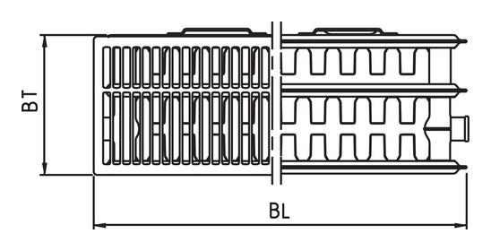 kermi pk0 therm x2 plan kompaktheizk rper typ 33 505 1005. Black Bedroom Furniture Sets. Home Design Ideas