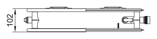 kermi plk therm x2 line kompakt hygieneheizk rper typ 20. Black Bedroom Furniture Sets. Home Design Ideas