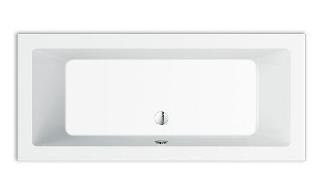 livorno rechteck badewanne 180x90x49 cm weiss 32257 repabad acryl hahn gro handel. Black Bedroom Furniture Sets. Home Design Ideas