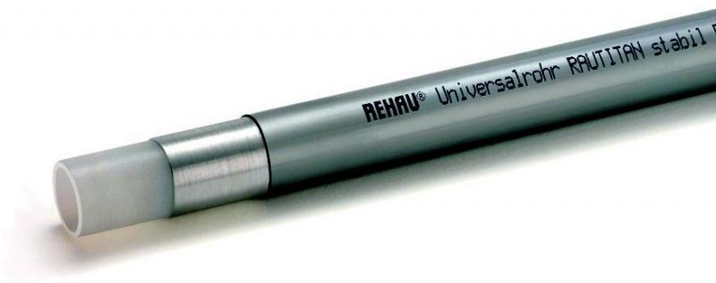 Rehau Rautitan Rohr-Stabil 2,5 m Stangenware 20 x 2,9 mm