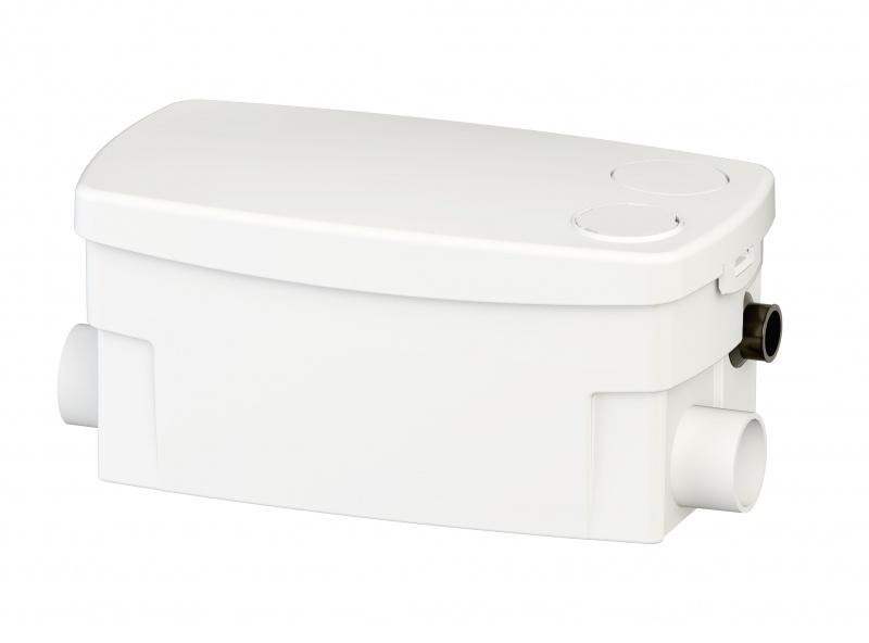 sanidouche schmutzwasserpumpe zum anschluss an waschtisch dusche und bidet 0016p sfa. Black Bedroom Furniture Sets. Home Design Ideas