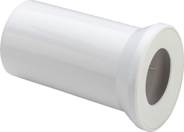 sanit wc anschlussstutzen 400 mm dn 100 wei 58203010099 sanit hahn. Black Bedroom Furniture Sets. Home Design Ideas