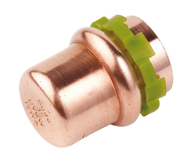 Kupfer Pressfitting SudoPress Kappe 22 mm VC301 5301vw22