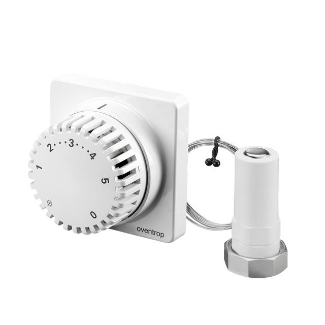thermostat uni fh 7 28 c 0 1 5 fernverstellung 2m 30 x 1 5 1012295 oventrop hahn. Black Bedroom Furniture Sets. Home Design Ideas