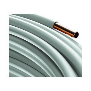 Bevorzugt Wicu- Kupferrohr 15 x1,0 mm mit PVC-Stegmantel a 25m Rolle ES07